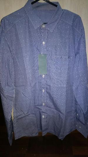 Remato Camisa Creditex Algodon Pima