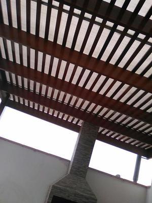 Policarbonato techos terrazas cocheras patios posot class for Techos en madera para patios