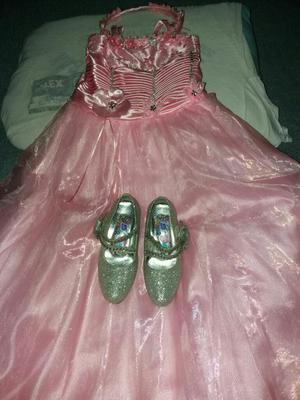 Vestido Y Zapatos de Promocion