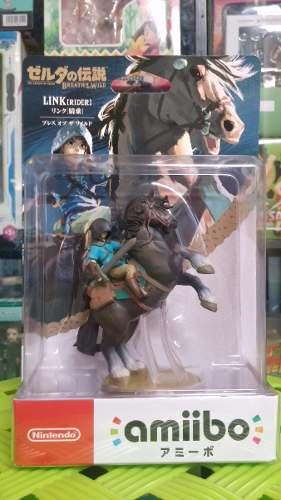 Amiibo Link Caballo The Legend Of Zelda: Breath Of The Wild