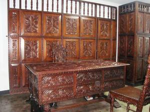 Muebles tallados a mano en madera caoba lima posot class - Muebles de caoba ...