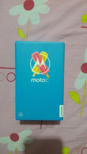 Moto C Nuevo en Caja con Todo