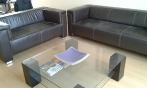 Muebles de sala a medida en cuero lima posot class for Muebles de sala de cuero