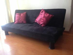 Sofa Cama Negro Oferta, Ideal