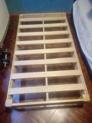 Promoci n tarima nueva 1 plza posot class - Tarimas de madera usadas ...