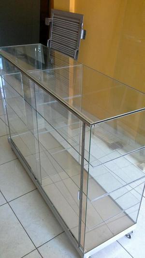 Vitrina Mostrador Vidrio