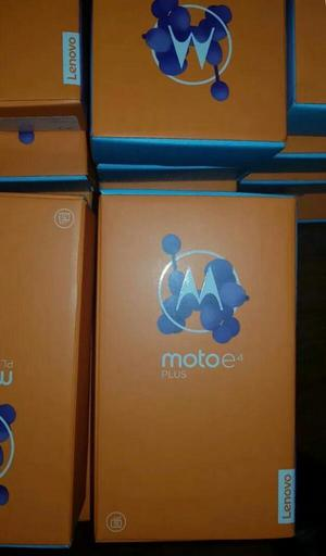 Moto E4 Plus, Id Dactilar, 16gb, 2gb Ram, Quad Core,