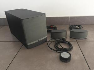 how to connect bose companion 2 speakers to laptop