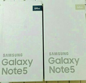 Samsung Galaxy Note 5, Cam.16mpx Y 5mpx, 32gb Y 64gb, 4gb