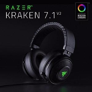 Audifono C/microf. Razer Kraken 7.1 V2 Chroma Headset Black