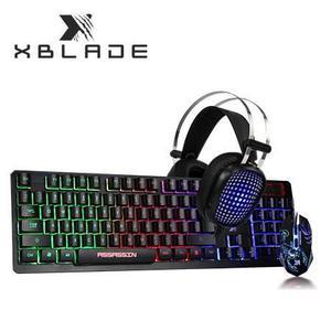 Combo Gamer Teclado Mouse Y Audifono