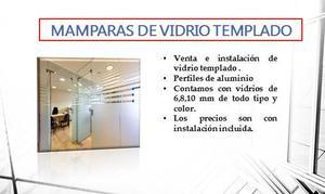 Vendo mamparas de madera y vidrio por viaje posot class - Mamparas vidrio templado ...