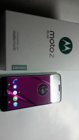 Moto Z Play con Camara de Vigilancia