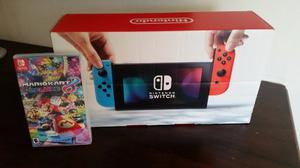 Nintendo Switch Color Nuevo + Mario Kart 8 Deluxe