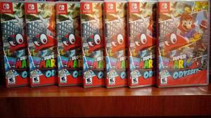 Super Mario Odyssey Nintendo Switch Nuevo Sellado Stock