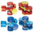 Fidget Spinner Lego Armable, Creativo, Educativo, Juguete