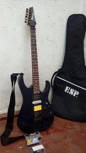 Guitarra Ibanez Japonesa con Dimarzios