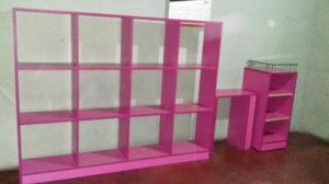 Juego De Muebles Para Exhibicion En Tienda