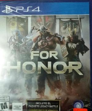 Juego For Honor Ps4 Sellado