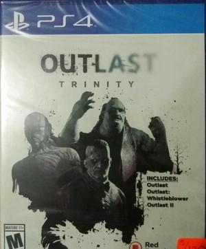 Juego Outlast Trinity Ps4 Sellado