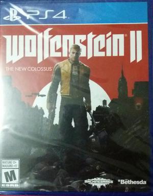 Juego Wolfenstein Ii Ps4 Sellado