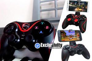 Mando Para Juegos Inalámbrico Gamepad  Bluetooth