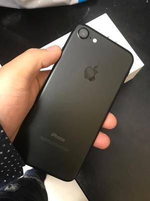 iPhone 7 de 32Gb Black Libre Garantia