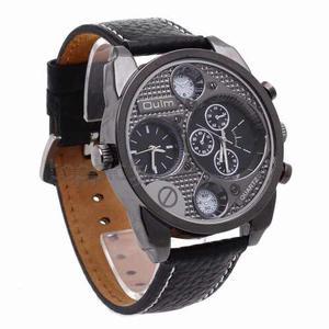 Reloj Para Caballero Oulm Elegante Y De Calidad
