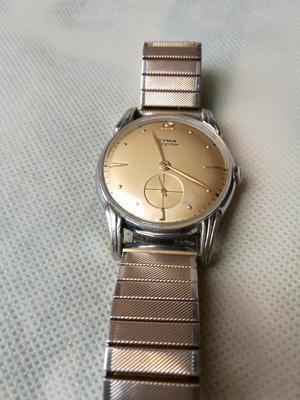 Reloj Suizo Cyma Colección Omega