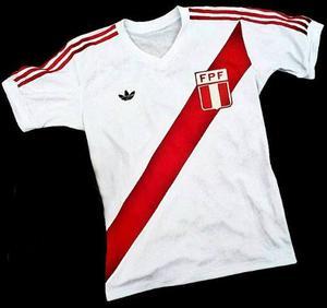 Camiseta Retro Perú Disponible S M L X.l