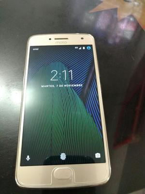 Motorola G5 Plus 4g Lte Libre Gold Dorad