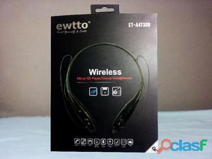 Audifonos Bluetooth Hands Free Radio Fm Mp3