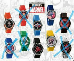 Reloj de Colección Marvel Original Nuevo