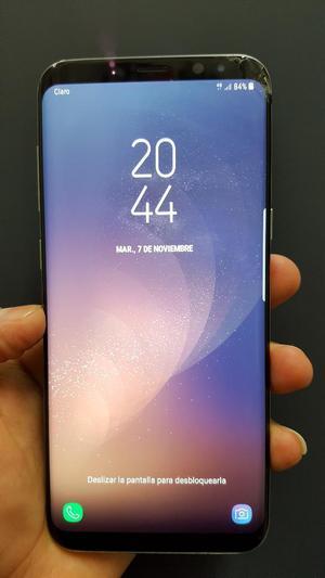 Samsung S8 Plus Libre con Detalle Glass