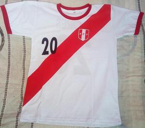 Venta de Polos de la Selección Peruana