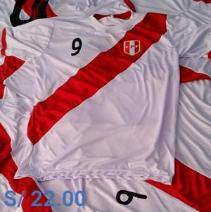 Camisetas Selección Peruana