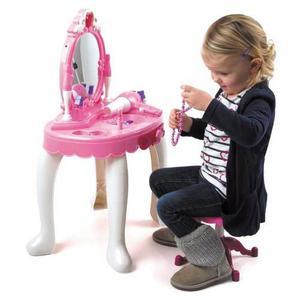 Mesa de tocador para ni as reconoce la voz posot class - Espejo magico juguete ...