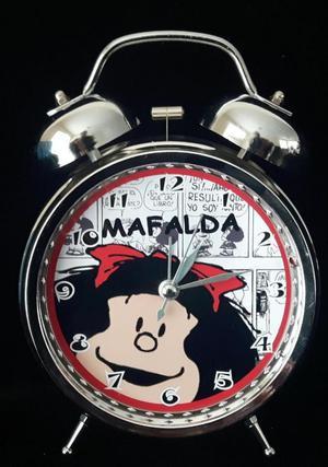 Reloj Despertador Estil Vintage Mafalda Lindo Regalo