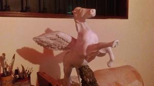 Vendo Escultura Caballo Alado Pegazo