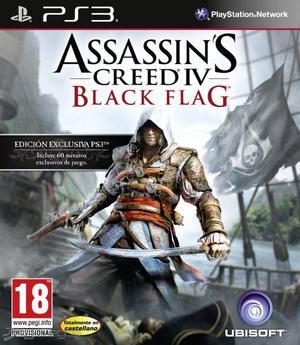 JUEGO ASSASSINS CREED IV para PS3