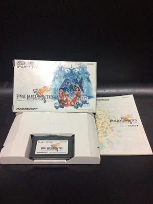 Juego Game Boy Advance Final Fantasy Tactics