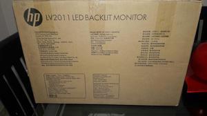 Monitor Hp Led 20 Nuevo