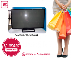 TV LG FULL HD DE 50 PULGADAS