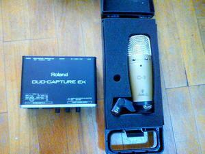 Tarjeta de Audio Roland Y Micro Behringe