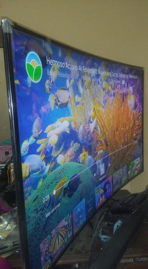 ocasion por viaje tv samsung smart 55 curvo