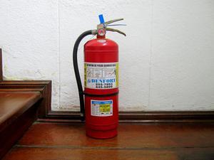 Extintor de químico seco ABC de 6 kilos para recarga buen