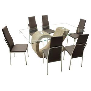 Vendo comedor 6 sillas vidrio templado estado posot class for Comedor vidrio 6 sillas