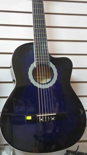 Guitarra Acustica Nueva con Funda