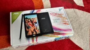 Tablet A726 Color Negro Nuevo