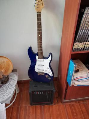 Vendo Guitarra Eléctrica Poco Uso
